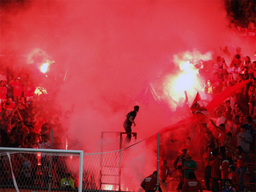 Section 8 Fire Supporters at Home