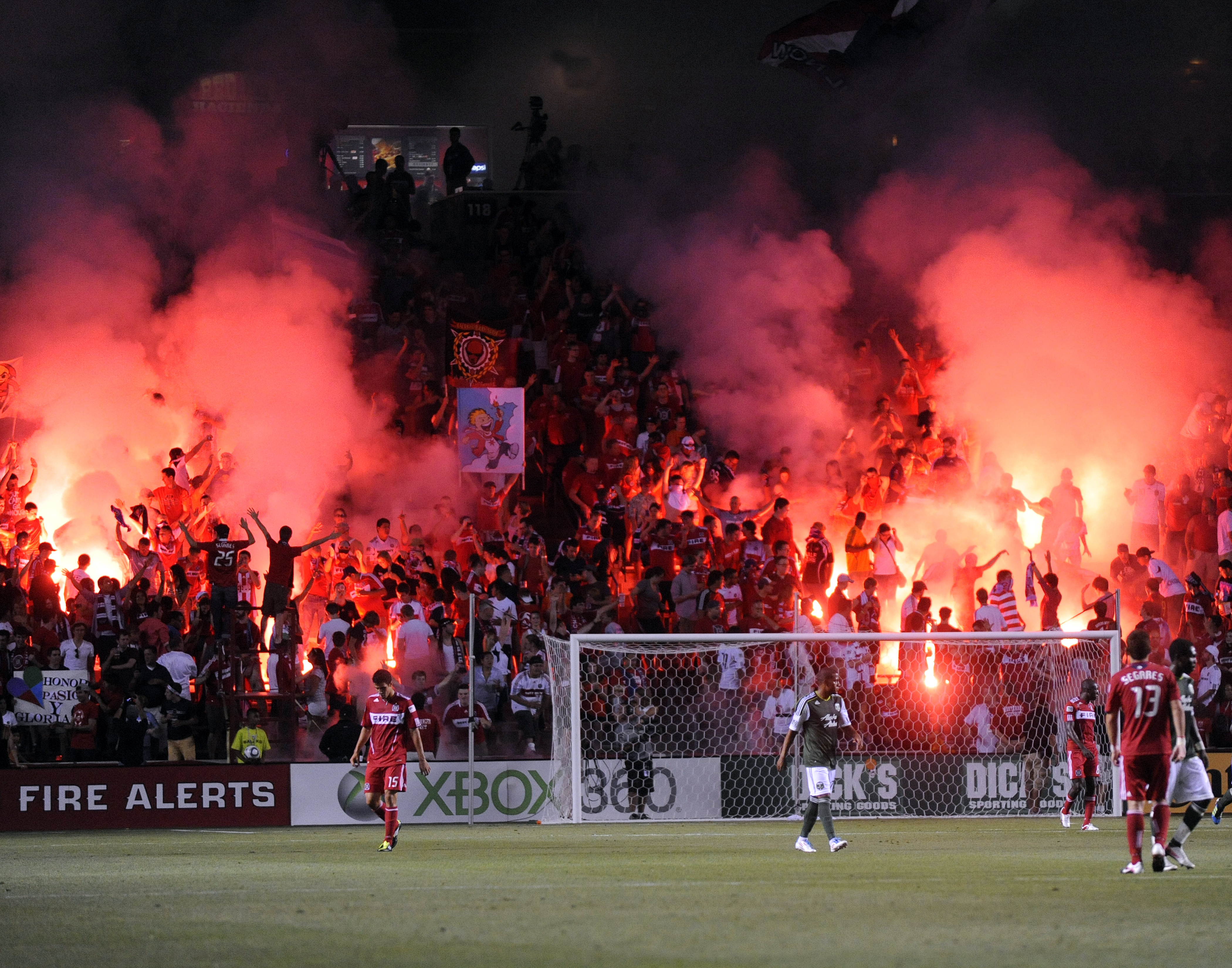 Section 8 Fire Supporters